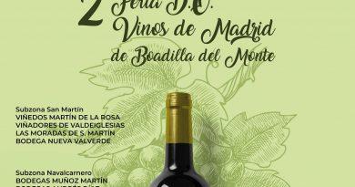 Teleboadilla. La II Feria de la D.O Vinos de Madrid reúne a 15 bodegas el próximo fin de semana en Boadilla