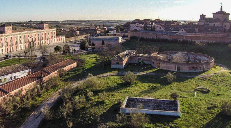 Teleboadilla. Zona del gallinero del Palacio del Infante Don Luis