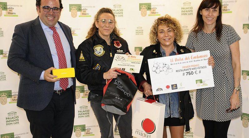 Teleboadilla. Entrega premios II Ruta del Garbanzo