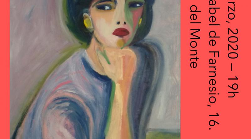 Teleboadilla. Exposición de pintura Eva Galda 2