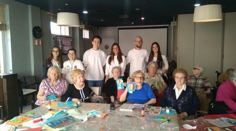 Teleboadilla. La fundación Talento-MCR apoya a los ancianos
