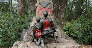 Estatua de Cervantes en San Francisco