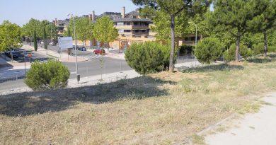 Teleboadilla. Calle Isabel de Farnesio antes de la conexión con la M-513