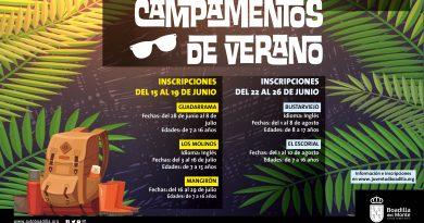 Teleboadilla. Campamentos de verano 2020