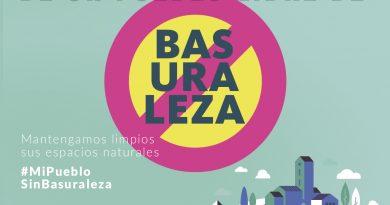 Teleboadilla. campaña #MiPuebloSinBasuraleza