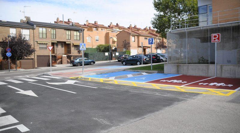 Teleboadilla. Obras en el aparcamiento de la piscina municipal