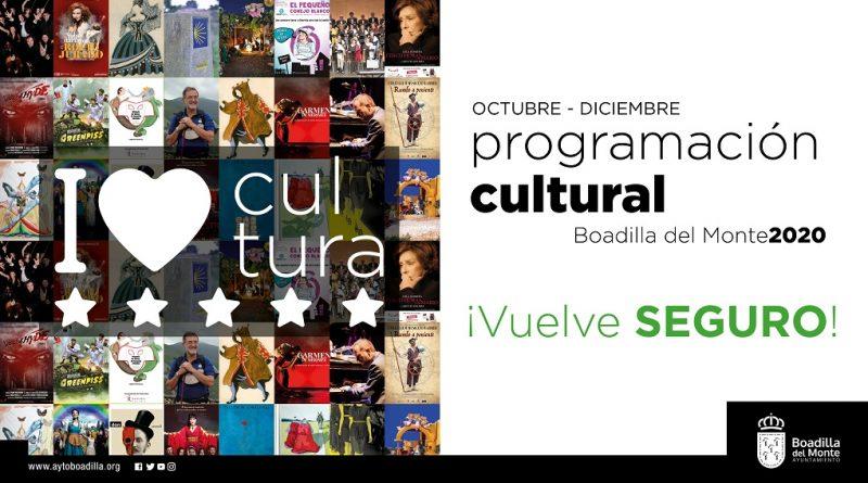 Teleboadilla. Programación cultural otoño 2020