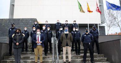 Teleboadilla. 13 nuevos policías locales en Boadilla del Monte