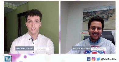 Teleboadilla. Entrevista a José Sánchez Lobato, Concejal de Juventud de Boadilla del Monte