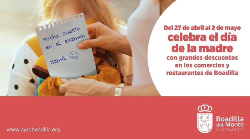 eleboadilla. Campaña en comercios Día de la Madre