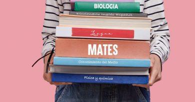 Teleboadilla. Libros de texto escolar