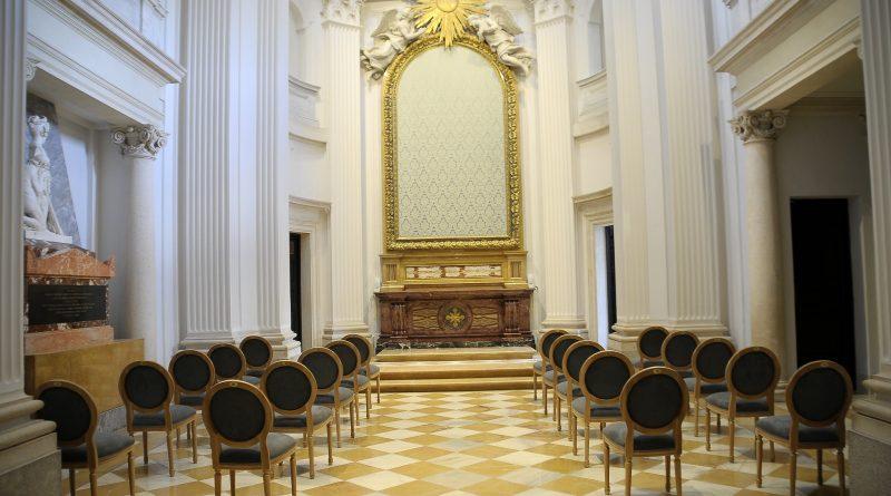 Teleobadilla. Capilla del Palacio del Infante Don Luis de Boadilla del Monte