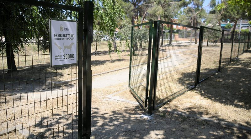 Teleboadilla. Área Canina del Parque Juan Pablo II