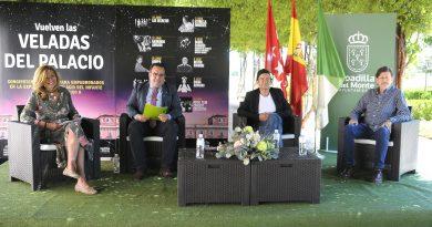 Teleboadilla. El alcalde presenta las veladas del palacio