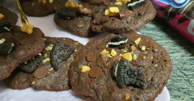 Teleboadilla. Repostería Creativa. Cookies de chocolate, Oreo y Nueces