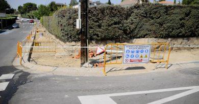 Teleboadilla. Renovación del acerado en Monte Almenara y Monte Puig
