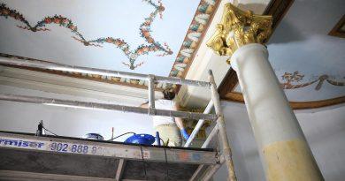 Teleboadilla. Sala de la Condesa de Chincón en el Palacio del Infante Don Luis de Boadilla