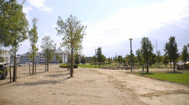 Teleboadilla. Parque Miguel Ángel Blanco en Boadilla del Monte