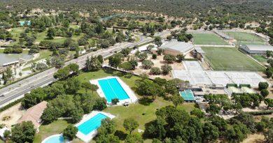 Teleboadilla. Vista aérea del Polideportivo Municipal Ángel Nieto de Boadilla del Monte