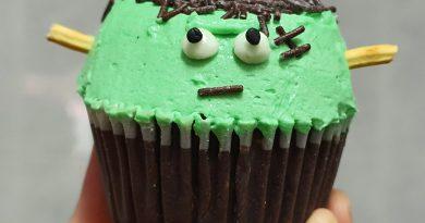 Teleboadilla. Repostería Creativa. Cupcakes Frankestein