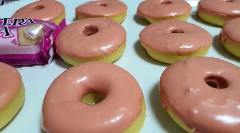 Teleboadilla. repostería- creativa. Donuts de la pantera rosa